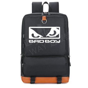 Girls bookbag 2018 new Letter Bad boy Badboy Backpack Teenage Girl Backpacks women Shoulder travel School Bag men Bookbag Casual Laptop Bags AT_52_3