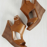 Smarty Plans Wedge | Mod Retro Vintage Heels | ModCloth.com