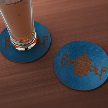 Doctor Who Bad Wolf Geek Drink Coaster