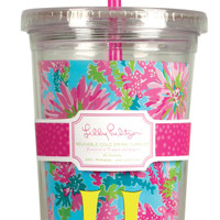 Lilly Pulitzer Tumbler: Trippin & Sippin