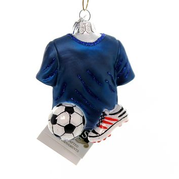 Noble Gems SOCCER OUTFIT Glass Shirt Shoe Ball Nb1336