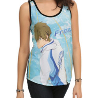 Free! Makoto Sublimation Girls Tank Top