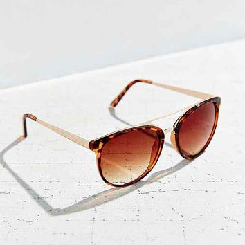 Rocky Brow Bar Wayfarer Sunglasses-