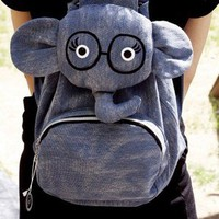 Cute Cartoon Elephant Backpack Bag