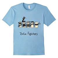 Tofu Fighters Funny T-Shirt for Tofu Lovers and Vegans