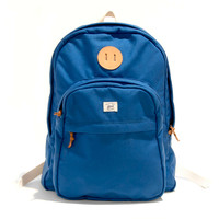 Billykirk's No. 297 Sport Zipper-Top Backpack in Royal