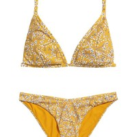 Patterned bikini - Yellow/Patterned - Ladies | H&M GB