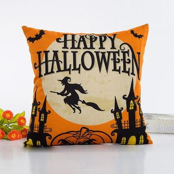 Halloween decorative throw pillows home decorative throw pillow pillowcase for the pillow 45*45
