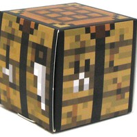 Minecraft Crafting Table Papercraft