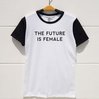 S M L XL -- The Future is Female Tshirts Funny Quote Shirts Tumblr Shirts Women Tshirts Men Tshirts Short Sleeve Baseball Jersey Tee Shirts