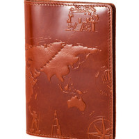 """Passport Cover Case """"7 Wonders of the World 3D Print""""  *FREE SHIPPING*"""