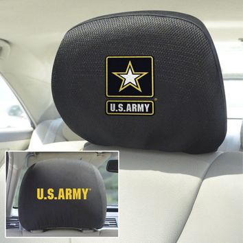 "Army Head Rest Covers 10""x13"""
