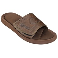 Florida Gators Memory Foam Slide Sandals - Adult (Brown)