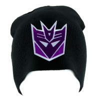 Decepticons Transformers Beanie Alternative Style Clothing Knit Cap Megatron
