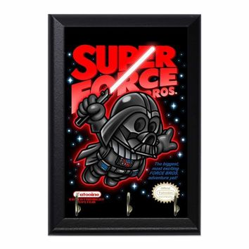 Super Force Bros Vader Decorative Wall Plaque Key Holder Hanger