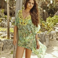 Palmarosa Swimwear - Escape From Sahara Tunic | Shop Miami Style