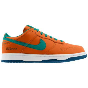 best website aa47b 4edf8 Nike Dunk Low (NFL Miami Dolphins) iD Men s Shoe