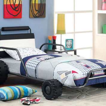 Supercharged Racer Twin Bed