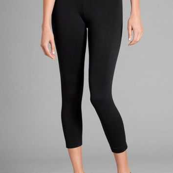 Seamless Crop Leggings