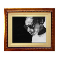 "Wiz Khalifa 11"" x 17"" High Quality Art Print"