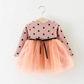 Baby Girls Polka Dot Tutu Dress