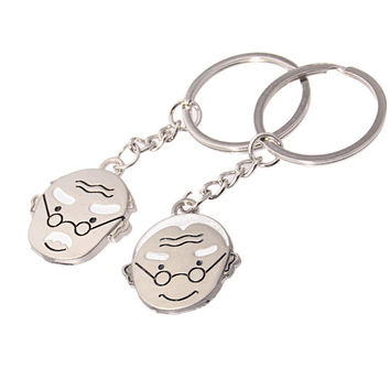 Hot Sale New Arrival Trendy Great Deal Functional Creative Gift Metal Couple Strong Character Keychain [11496559247]
