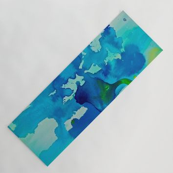 Topography Yoga Mat by duckyb