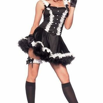 Be Wicked Costume 4 Piece FIFTH AVENUE MAID