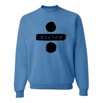 "Ed Sheeran ""Divide Logo"" Crewneck Sweatshirt"