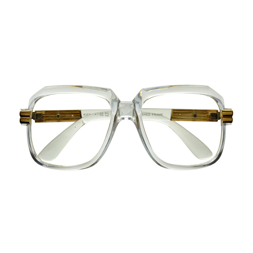 Transparent Clear Frame Old School Square from FREYRS Sunglasses