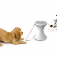 Pet's Double Laser Chase Toy @ Sharper Image