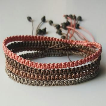 Macrame Friendship Bracelet - Russian Serpentine