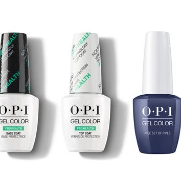 OPI - GelColor Combo - Base, Top & Nice Set Of Pipes