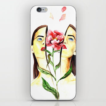 Coming Up Roses iPhone & iPod Skin by MIKART