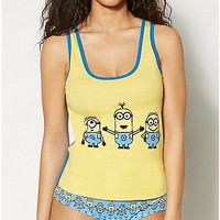 Minions Despicable Me Tank and Panties Set - Spencer's