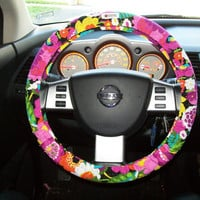 Vera Bradley Steering Wheel Cover by mammajane on Etsy