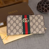 Leather GUCCI Wallet
