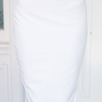 Giselle Midi Skirt (white)