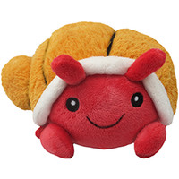 Mini Squishable Hermit Crab: An Adorable Fuzzy Plush to Snurfle and Squeeze!