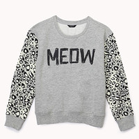 Meow Sweatshirt (Kids)
