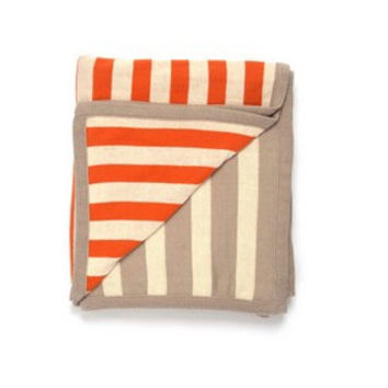 Sneaky Stripes Cotton Throw Blanket