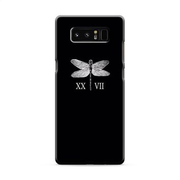 Lauren Jauregui Dragonfly Tattoos Samsung Galaxy Note 8 Case