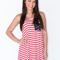 Stars and Stripes Tank Dress