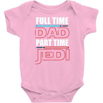 fulltime dada part time jedy Baby Onesuit