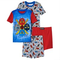 Ninjago 4-Piece Pajama Set - Boys