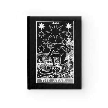 The Star Tarot Card Notebook