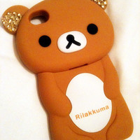 Rilakkuma diamonds iphone 4 case.