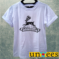 Black Stag Fleet and Free Women T Shirt