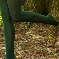 High Standards Tights-Green