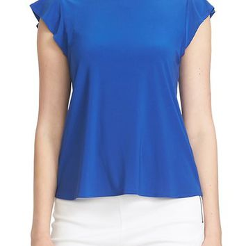 CeCe by Cynthia Steffe Ruffle Sleeve Tee | Nordstrom